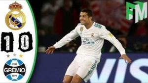 Video: Real Madrid vs Gremio 1-0 - All Highlights & Goals - 16 December 2017